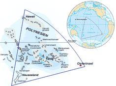 Die Osterinsel im Polynesischen Dreieck