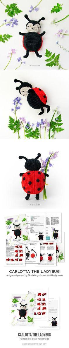 Carlotta the Ladybug amigurumi pattern