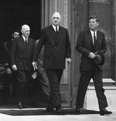 President Kennedy &  Charles de Gaulle