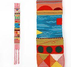Hannah Waldron woven textile, UK