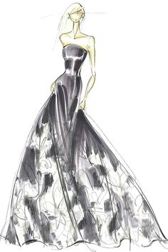 "Spring 2014 Designer Inspirations: ""High-glamour of the early 1960s Cannes Film Festival."" — Pamella Roland [Courtesy Photo]"