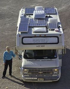 """""""Saving the Earth at 10 mpg"""" by Andy Baird. Source: Eureka! Live Blog.  This is a great article about working toward a fuel efficiency + fun equation in RV life. As a first-time trailer owner, I am able to get a sense of the big picture - fuel efficiency as as set of skills and gear acquired over time - as well as the mathematical details of energy consumption for me to bookmark and refer to always.  I shall write to Andy Baird to thank him. MATH IS POWER!  Photo copyright Andy Baird."""