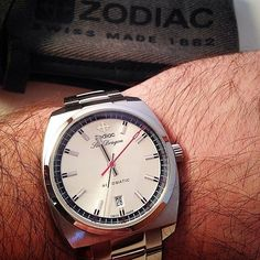 Zodiac Sea Dragon Automatic. :@mr_timemachine_too Check it out here: http://ift.tt/2gpxDsl