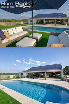View average prices for inground pools by pool type and size, including fiberglass, vinyl liner, and concrete. Sizes range from 12x24 to 20x40 ft. #swimmingpools #ingroundpools #home