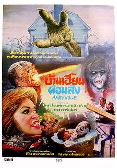 The Amityville Horror, 1979 (Thai Film Poster)
