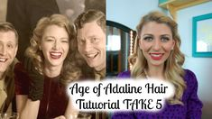 Age of Adaline Hair Tutorial TAKE 5 (Super Easy)