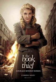 The Book Thief is a 2013 American-German war drama film directed by Brian Percival and starring Geoffrey Rush, Emily Watson, and Sophie Nélisse. The film is based on the 2005 novel The Book Thief by Markus Zusak and adapted by Michael Petroni. Emily Watson, Markus Zusak, Beau Film, Great Movies, Great Books, Excellent Movies, Movies Free, Love Movie, Movie Tv