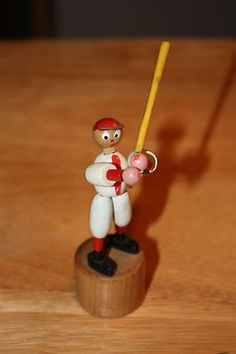 Fomlet, Italy Antique Toys, Vintage Toys, Brio, Puppets, Wooden Toys, Italy, Christmas Ornaments, Cool Stuff, Button