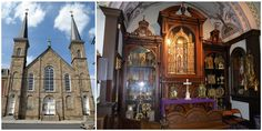 Saint Anthony's Chapel in Pittsburgh is the home of the largest collection of Catholic relics in the world outside of the Vatican