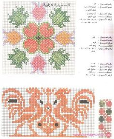 Palestinian Cross Stitch Patterns - Majida Awashreh - Λευκώματα Iστού Picasa