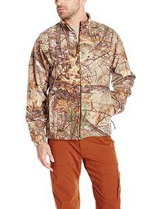 Scent-Lok Mens Vortex Windproof Fleece Jacket, Realtree Xtra, Large