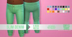 Slim Demin |Toddler | by Onyxsims via blogspot | Sims 4 | TS4 I Maxis Match | MM I CC