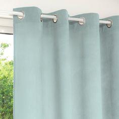 Ösenvorhang blau 140 x 250 cm | Maisons du Monde
