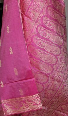 Pure silk Baluchari saree. For orders and inquiries, please mail us at naari@aninditacreations.com.  Like our page www.facebook.com/naari.aninditacreations