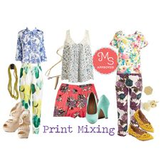 Not afraid of a little color? Go all out with bold color and print mixing this summer. #prints #printmixing #outfits #bold #ModCloth #ModStylist #fashion