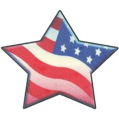 flag with one star in the middle