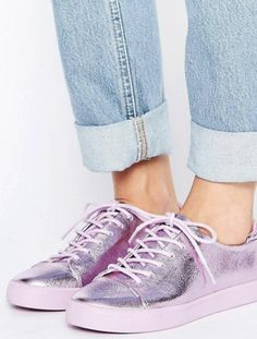 50454acd24ef4 Put Away Your Sandals And Try These End-Of-Summer Shoe Styles ASOS Metallic