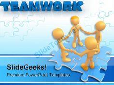 Deal on puzzles business powerpoint templates ppt themes and teamwork puzzle business powerpoint template 0610 powerpoint templates themes background toneelgroepblik Choice Image