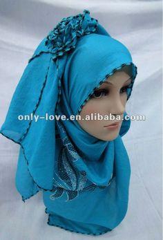 Muslim Scarf for Women | muslim women long scarf islamic shawl SYF007, View muslim long scarf ...