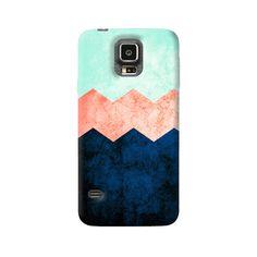 Triple Chevron Samsung Galaxy Case from Cyankart Samsung Galaxy S5, Chevron, Shells, Phone Cases, Conch Shells, Seashells, Sea Shells, Snail, Clam Shells