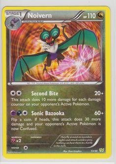 Noivern Pokemon Card