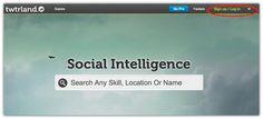 """Social Media """"Inteligente"""": twtrland.com"""