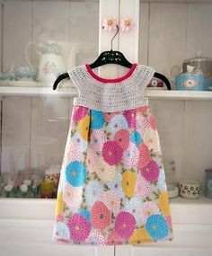 Nice little dress for pretty princess crochet project shared on the LoveCrochet Community. Find more baby inspiration at LoveCrochet.Com!