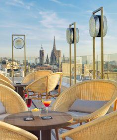 Cocktails at Chill-Out Terrace  #h10cubik #cubik #barcelona #h10 #hotel #hotels