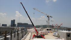 UNIC mini-crawler crane Crawler Crane, Fire Engine, Civil Engineering, Spider, Trucks, Mini, Travel, Spiders, Viajes