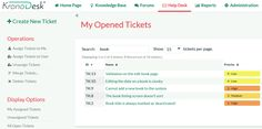 KronoDesk Help Desk Ticketing
