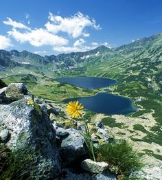 "Morskie Oko (""Sea Eye"" Lake) & Czarny Staw (Black Lake) - Tatra Mountains…"