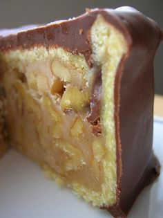 Chocolate Walnut-Caramel Cake.... - Culinary Concoctions by Peabody
