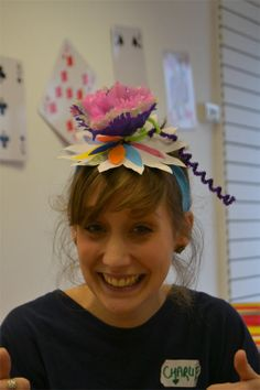 Thanks to all the families who came and made Mad Hatter hats at the ...