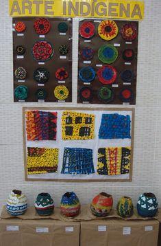 Criação de mandalas ,  trançados e vasos indígenas      As aulas realizadas nas turmas do 4° ano são todas embasadas emcima  das Orientaçõe...