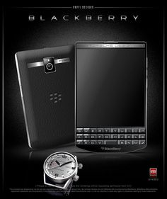 Blackberry Porsche Passport