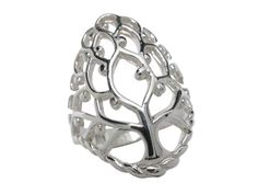 Sterling Silver Tree Of Life Ring Tree Of Life Ring, Tree Of Life Jewelry, Butterfly Jewelry, Body Jewellery, Sterling Silver Jewelry, Women Jewelry, Engagement Rings, Steel, Enagement Rings