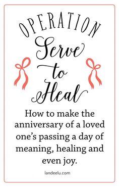 Serve to Heal: Finding Purpose in the Pain | landeelu.com