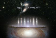Today is Astronomy Picture a Day's anniversary - Congrats on 17 beautiful years!