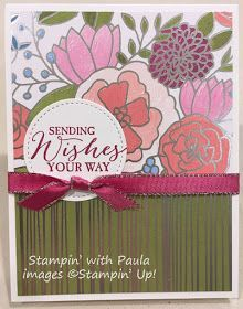 Stampin' with Paula: Birthday Bash Stampin' Buffet