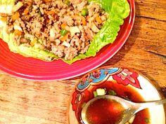 Paleo Asian Turkey Lettuce Wraps