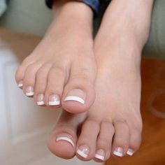 French toes pedicure feet sexy