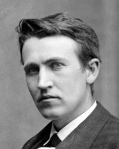 Young Thomas Edison - Tesla's rival in currents and in hotness.