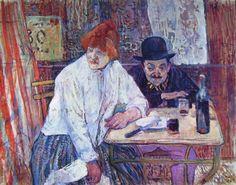 Henri de Toulouse-Lautrec, Alla trattoria della Mollica -, cm. 68, Museum of Fine Arts of Boston