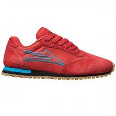 Skate Shop Online! Ténis Lakai Muni Red Blue. Sample Skate · Shoes c0c953aaa82