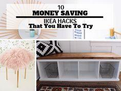 10 Money Saving Ikea Hacks That You Need To Try (With Awesome Tutorials) Ikea hack tutorials, home decor, DIY, DIY Home decor, Home Decor on a budget Trendy Home Decor, Diy Home Decor On A Budget, Decorating On A Budget, Cheap Home Decor, Shabby Chic Vintage, Style Vintage, Shabby Chic Decor, Best Ikea, Boho Home