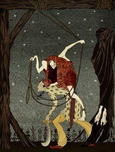 Кейт Baylay Иллюстрация: The Olive Fairy Книга Эндрю Ланга, опубликованные The Folio Society 2012