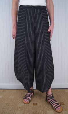 Alembika Fantastico Trouser -- shorter for summer in light linen / heavier knit in winter & longer