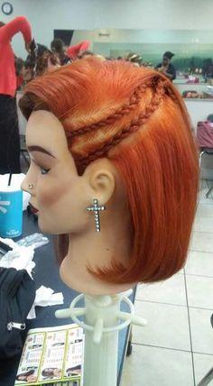 Bleach Color, Bobs, Braids, Dreadlocks, Hair Styles, Beauty, Bang Braids, Hair Plait Styles, Cornrows