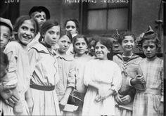Early 1900s Photo -- N.Y. School Italians --  Vintage Black White Photograph B5 | eBay