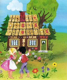 Hansel and Gretel' by Gisela Gottschlich